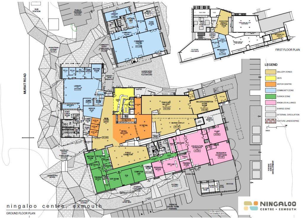 Ningaloo Centre Floorplan