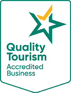 Quality Tourism Accredited Business logo shield